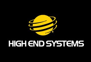 High end systems logo